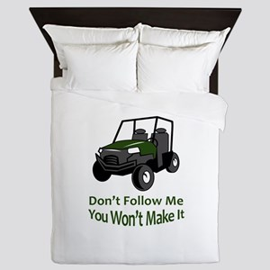 DONT FOLLOW MW Queen Duvet