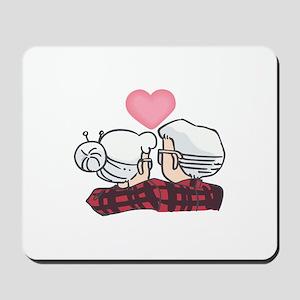 SENIOR COUPLE Mousepad
