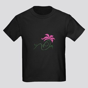 LARGE APPLIQUE FLOWER T-Shirt