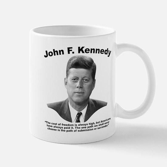 JFK Freedom Mug