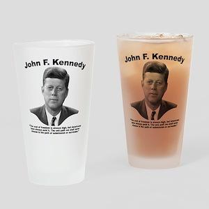 JFK Freedom Drinking Glass