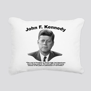 JFK Freedom Rectangular Canvas Pillow
