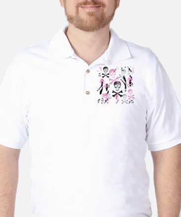 PIRATE GRUNGE Golf Shirt