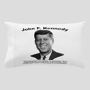 JFK Build Pillow Case