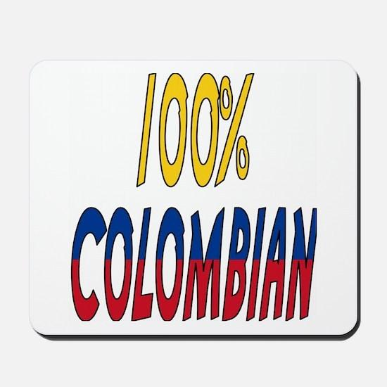 100% Colombian Mousepad