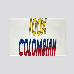 100% Colombian Rectangle Magnet