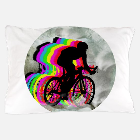 Cycling in the Clouds Pillow Case