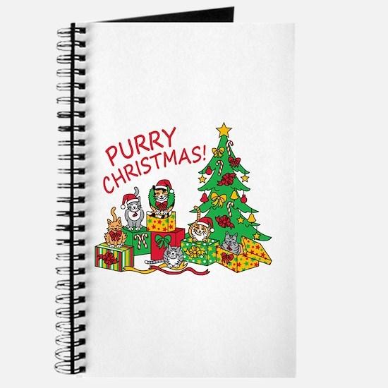 Purry Christmas! Journal