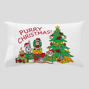 Purry Christmas! Pillow Case