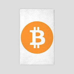 Bitcoin Area Rug