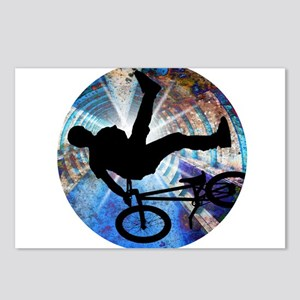 BMX in Grunge Tunnel Postcards (Package of 8)