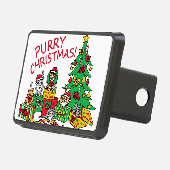 Purry Christmas! Hitch Cover