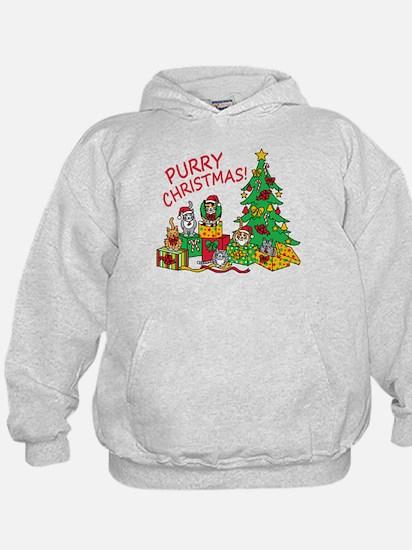 Purry Christmas! Hoody