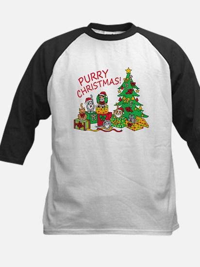 Purry Christmas! Baseball Jersey
