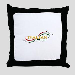 ITALIAN PROUD Throw Pillow