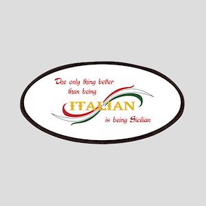 SICILIAN ITALIAN Patches