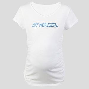 offworlders lean back Maternity T-Shirt
