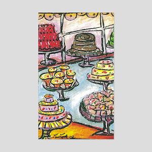 Cake Shop Rectangle Sticker