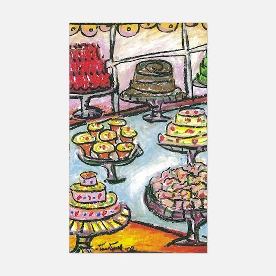 Cake Shop Rectangle Decal