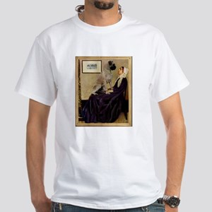 Whistlers Mother & Mastiff White T-Shirt