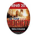 In the Heights Oval Ornament
