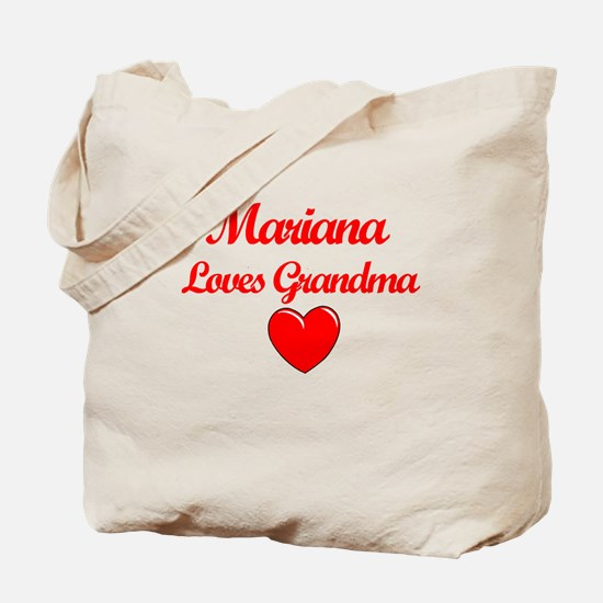 Mariana Loves Grandma Tote Bag