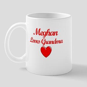 Meghan Loves Grandma Mug