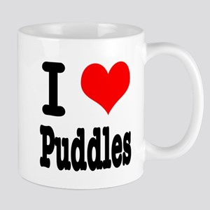 I Heart (Love) Puddles Mug
