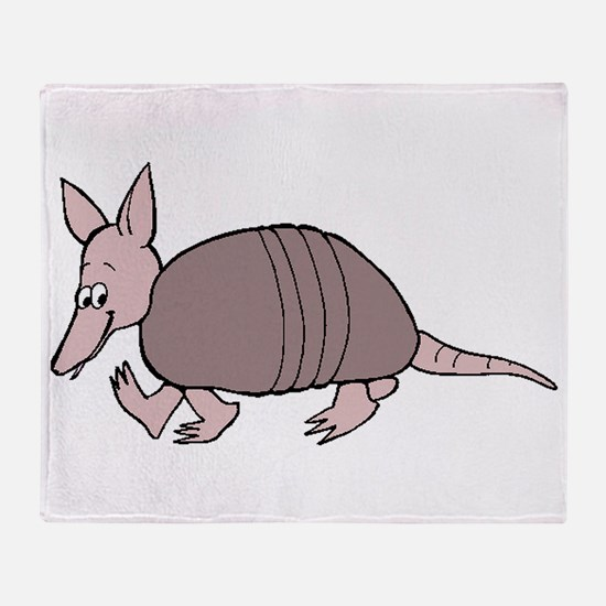 Baby Armadillo Throw Blanket