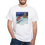Christmas Cartoon 9243 White T-Shirt