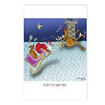 Christmas Cartoon 9243 Postcards (Package of 8)
