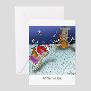 Christmas Cartoon 9243 Greeting Card