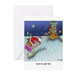 Christmas Cartoon 9243 Greeting Cards (Pk of 10)