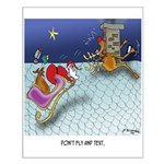 Christmas Cartoon 9243 Small Poster