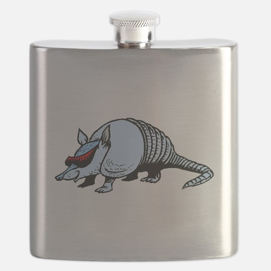 Cool Armadillo Flask