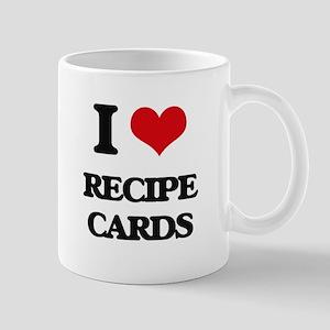 I Love Recipe Cards Mugs