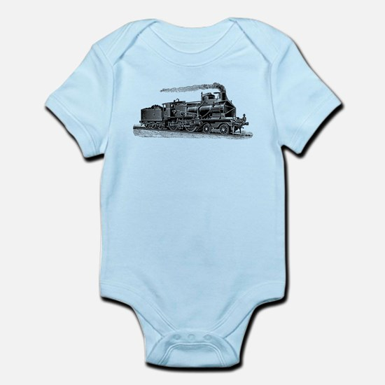 VINTAGE TRAINS Infant Bodysuit