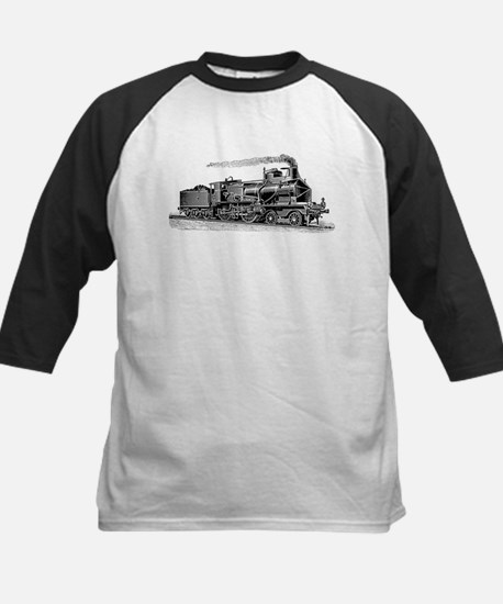 VINTAGE TRAINS Kids Baseball Jersey