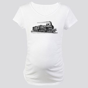 VINTAGE TRAINS Maternity T-Shirt