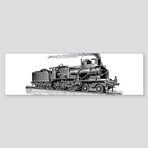 VINTAGE TRAINS Bumper Sticker