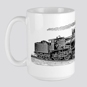 VINTAGE TRAINS Large Mug