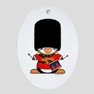 Nutcracker Penguin Ornament (Oval)