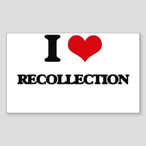 I Love Recollection Sticker