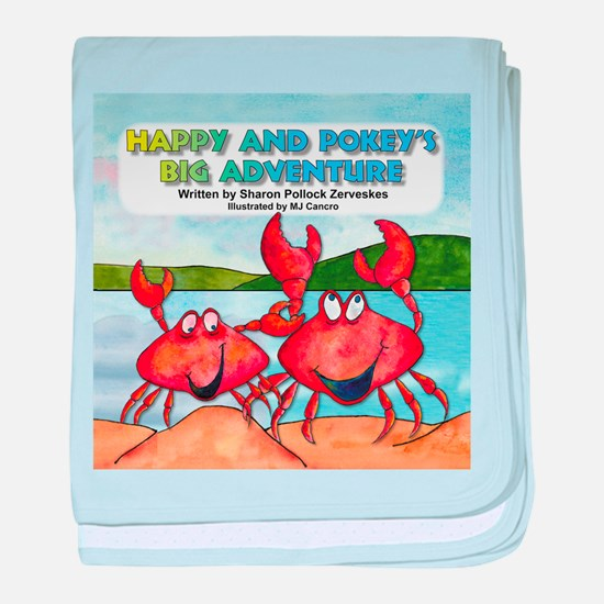 Happy and Pokey Cover baby blanket
