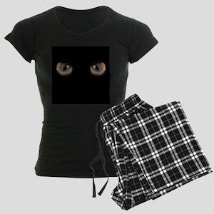 Eyes Peering in the Dark Pajamas