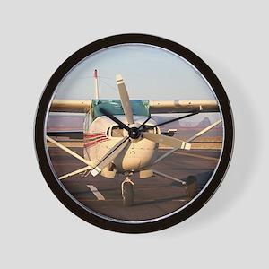 Aircraft at Page, Arizona, USA, 2 Wall Clock