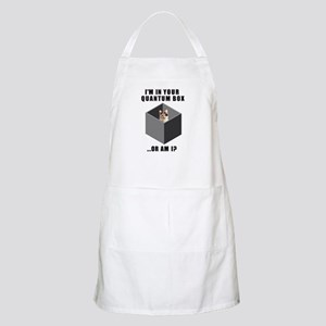 Quantum Cat BBQ Apron