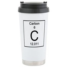 6. Carbon Stainless Steel Travel Mug