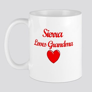 Sierra Loves Grandma Mug