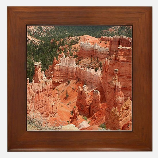 Bryce Canyon National Park, Utah, USA Framed Tile